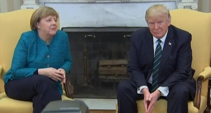 TrumpWatch, Day 58: Trump Slams Germany, A Day After Merkel Visit