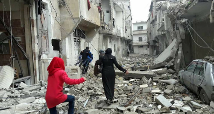 """Syria: Devastation of """"Unrecognizable"""" Opposition Areas Near Damascus"""