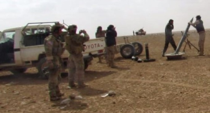 US Special Forces and Rebel Offensive v. ISIS in Eastern Syria