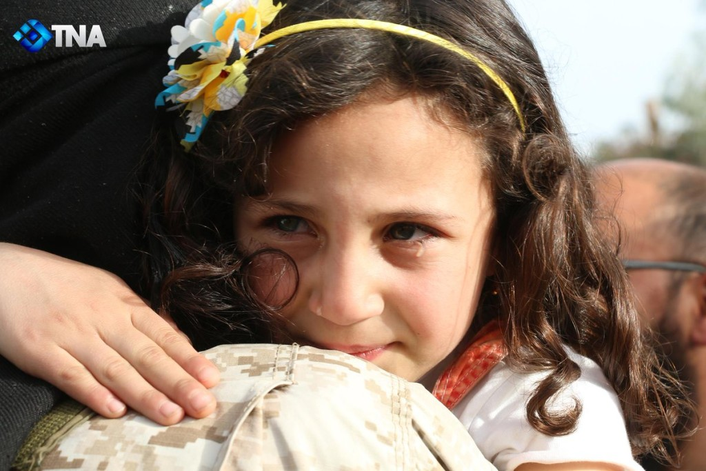 MADAYA-ZABADANI CRYING GIRL