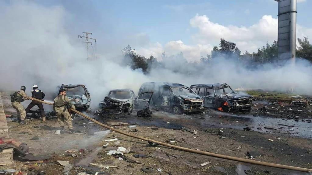 REGIME ENCLAVE BUS BOMBING 15-04-17 2