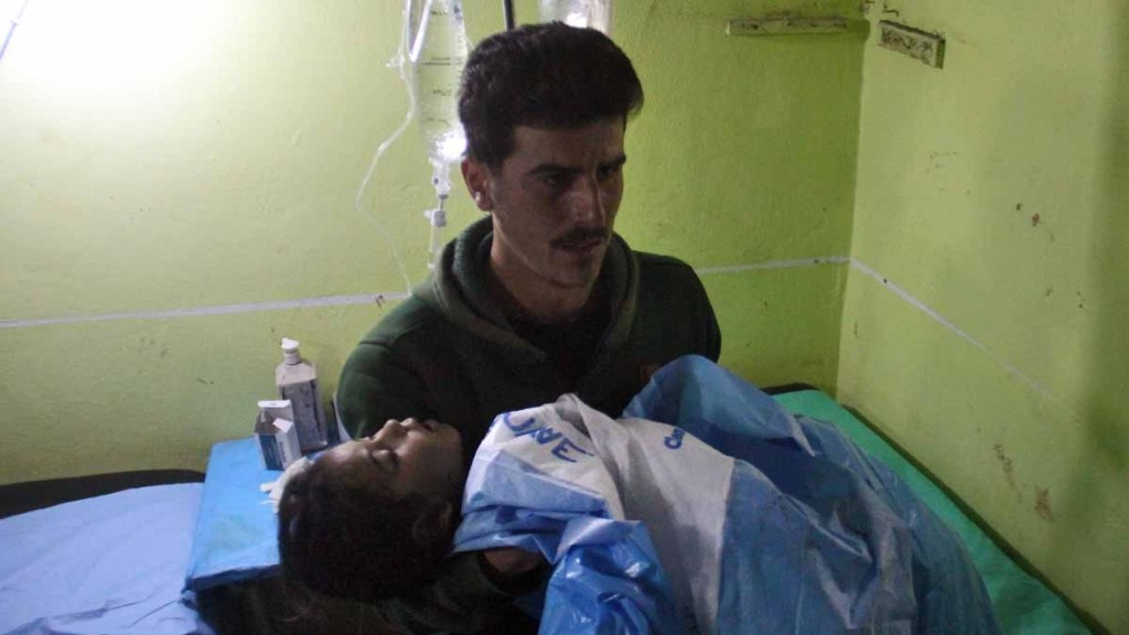 SYRIA CHEMICAL ATTACK 13 04-04-17