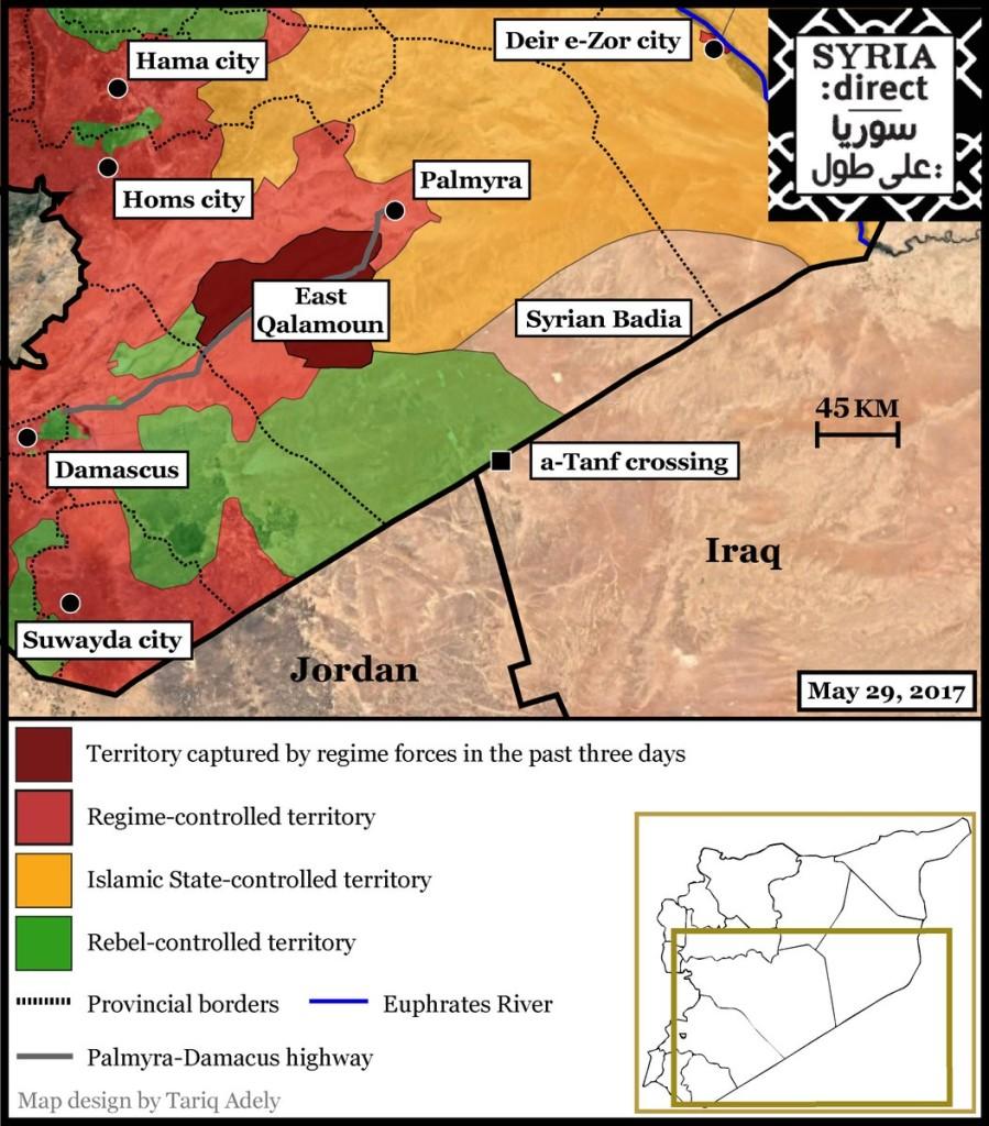 EASTERN SYRIA MAP 29-05-17