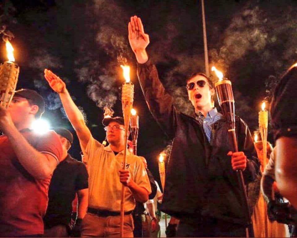 Nazi fascism hate racism xenophobia military violence crime