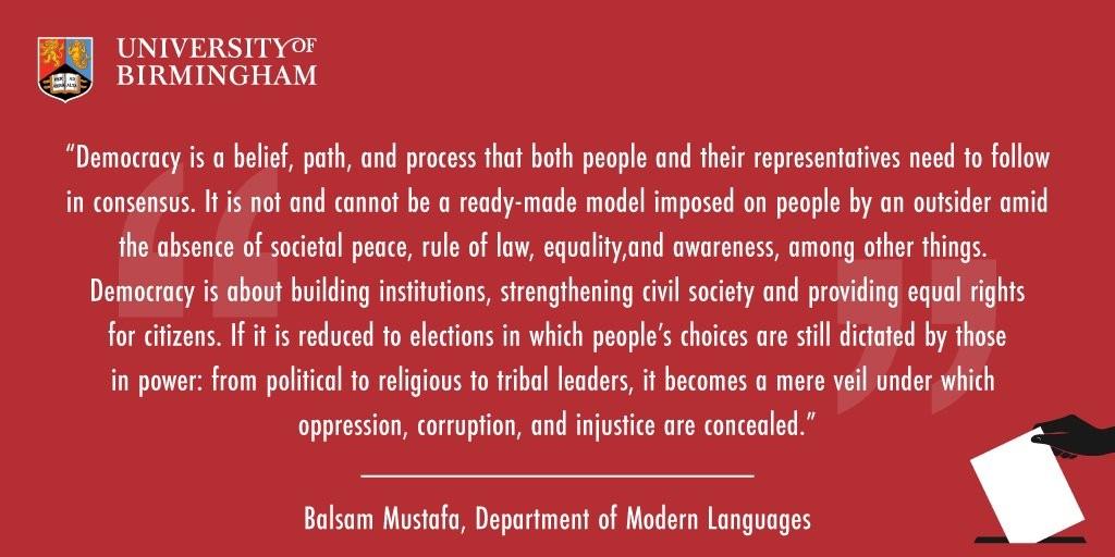 MUSTAFA DEMOCRACY