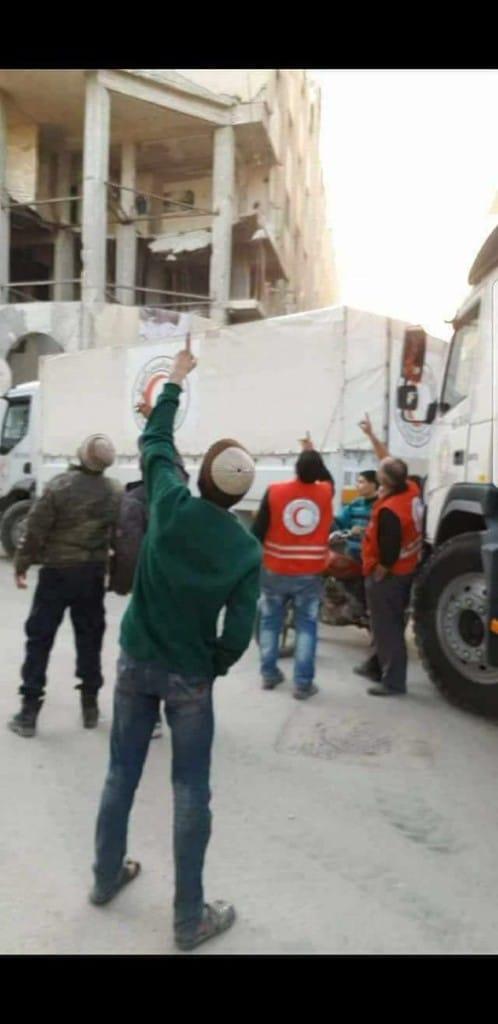 AID WORKERS DOUMA 05-03-18