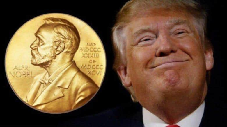 Donald Trump Nobel Peace Prize