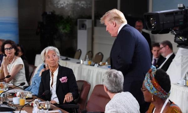 LAGARDE TRUMP G7
