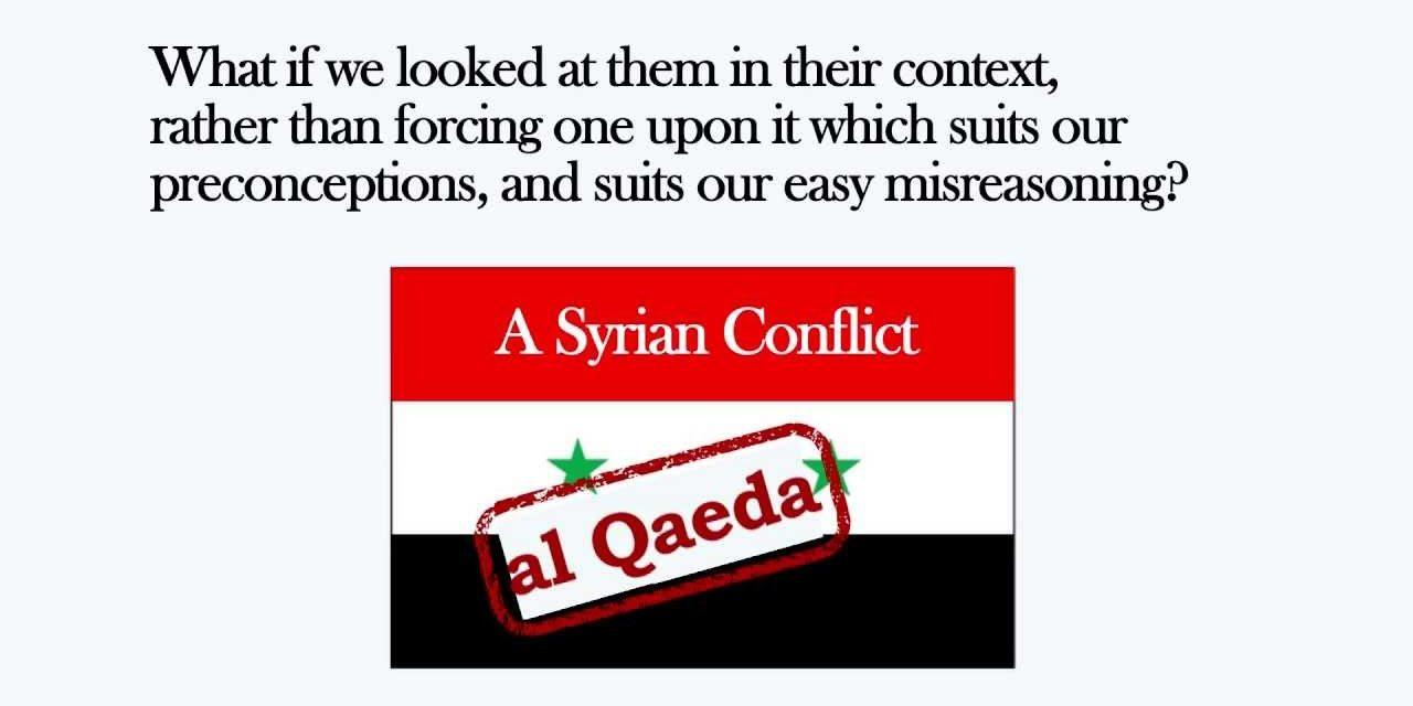 "From Libya to Syria: The ""Al Qa'eda Myth"" & The New York Times"