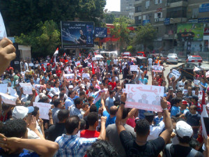 EGYPT 30-06-13 MAADI PROTEST