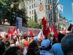 TURKEY 09-06-13 ISTANBUL PROTETST