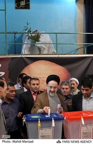 khatami votes 2013
