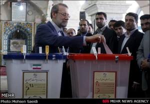 Ali Larijani Votes 2013