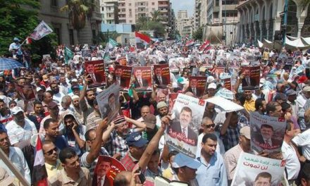 Middle East, July 19: Egypt — 1000s Protest For and Against Morsi