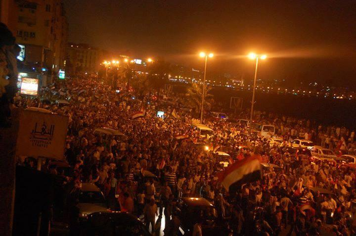 Middle East Today: Egypt — 10,000s in Rival Protests on Friday
