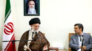 IRAN 14-07-13 KHAMENEI AHMADINEJAD