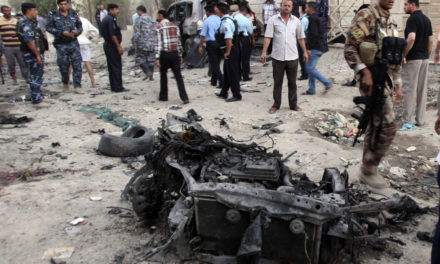 Middle East, August 24: Iraq — Suicide Bomber Kills 25 in Baghdad Park