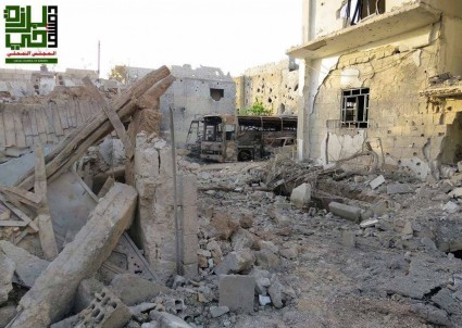"""Syria 1st-Hand: The Ceasefire in Damascus Suburb of Barzeh — """"The Opposition Had No Choice"""""""