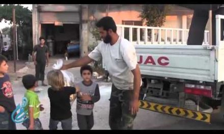Syria Feature: PR War — Jabhat al-Nusra Gives Candy To Children