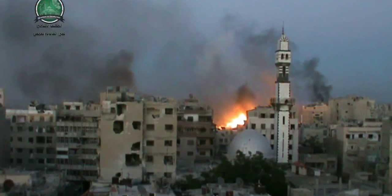 Syria, July 9: The Battle for Khalidiya in Homs