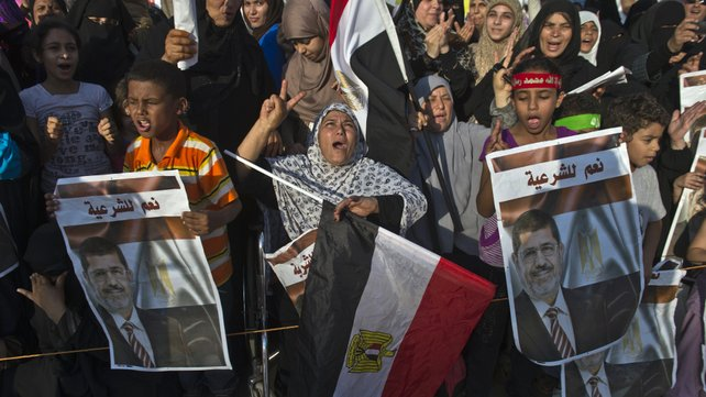 Middle East, August 13: Egypt — Government Backs Off Dispersal of Pro-Morsi Protests