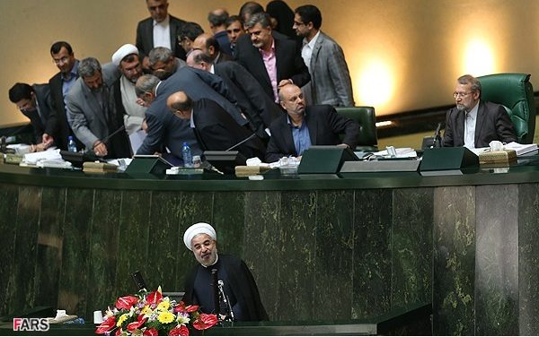 Iran, August 12: Rouhani Presents His Cabinet to Parliament