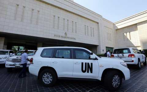 Syria Audio Analyses: UN Inspections & US Preparations for Airstrikes