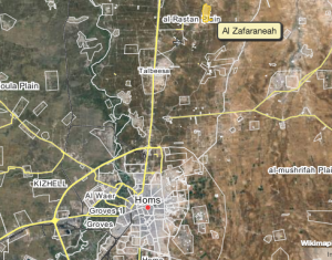 Al Zafaraneah, North of Homs
