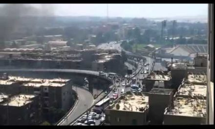 Egypt Video: Did Protesters Really Push Police Vehicle Off Bridge on Wednesday?