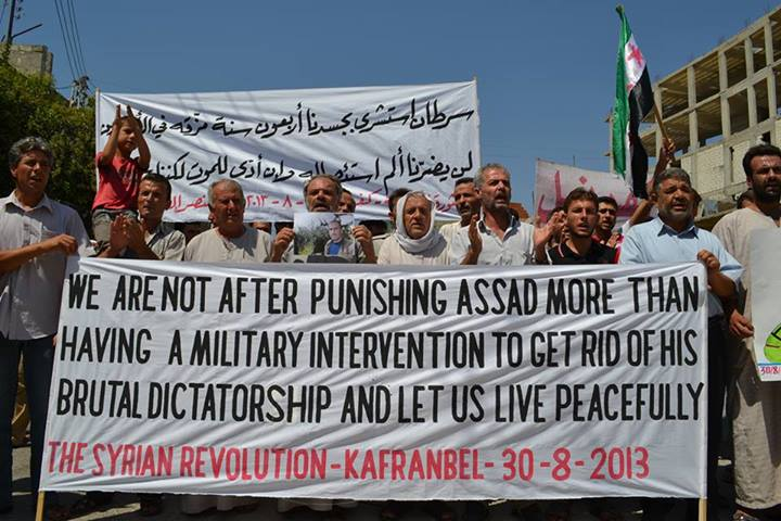 Syria Interview: Protests of Kafranbel — Challenging Assad and ISIS