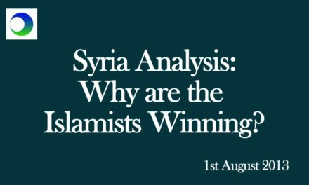 "Syria Video Analysis: Why are the Islamists ""Winning""? — A 3-Point Guide"