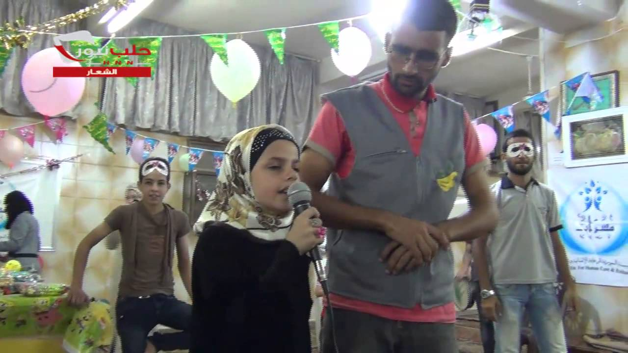 Syria Video Feature: In Aleppo, Local NGO Run Eid Party For Children