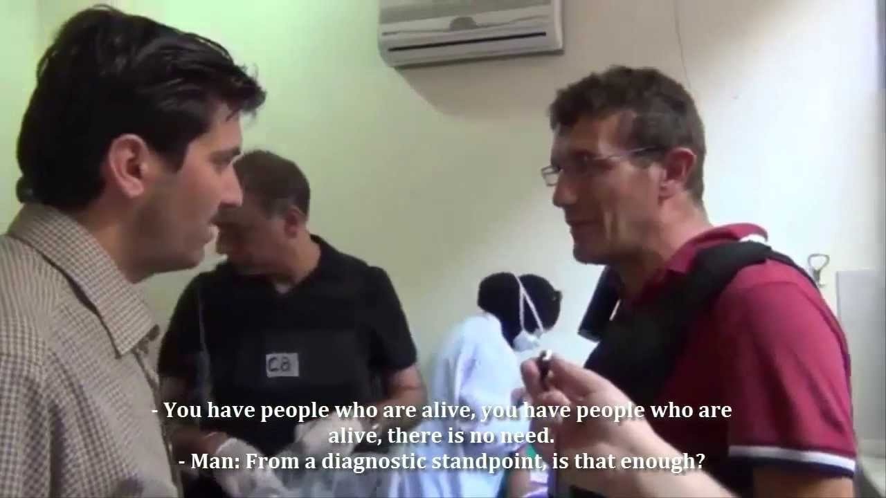 "Syria Video: UN Inspectors In Zamalka Field Hospital – ""If Anything Tests Positive, It Will Show"""