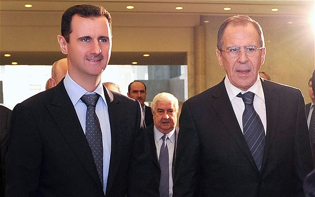 "Syria: Russia Tries to Boost Assad Regime in ""Hopeless"" Geneva II Talks"