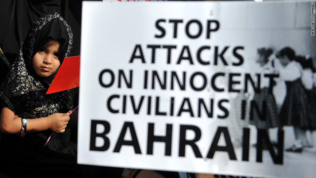 "Middle East, Sept 15: Bahrain's Security Forces ""Detaining and Abusing Children"""