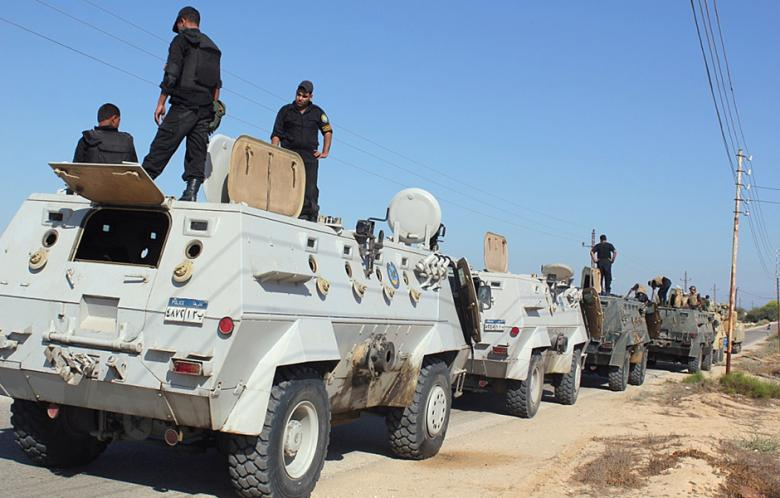 Middle East, Sept 7: Egypt — Military Moves Into Sinai, Kills 10 Insurgents
