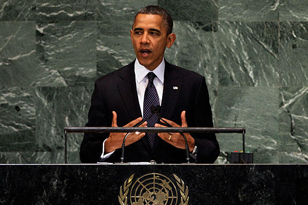 Syria, Sept 24: Obama Condemns Regime and Extremists in UN Speech