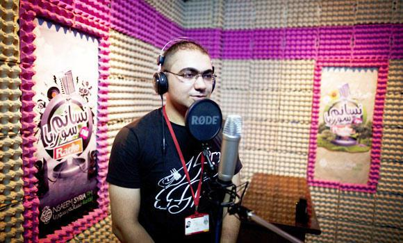 """Syria Feature: The """"Fresh Air"""" Radio Station in Aleppo"""