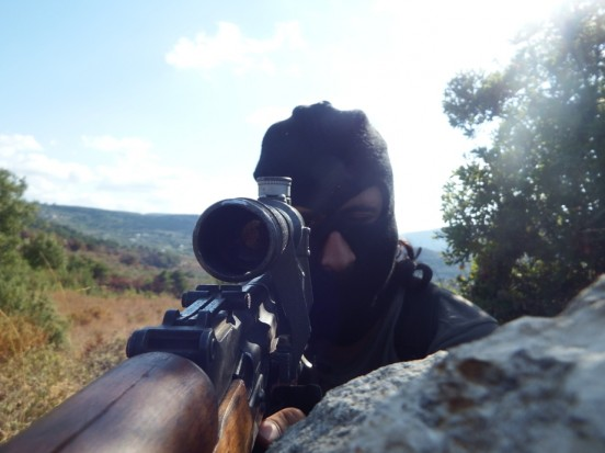 Syria Photo Feature: When an Insurgent Sniper Turns Photographer