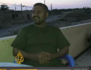 Screenshot of man AJE identify as Heydari