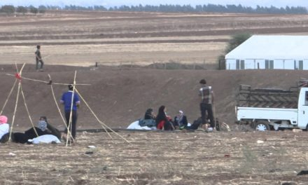 Syria Feature: Fearing Chemical Weapons & Fleeing Shelling, Syrians Flood To Jordanian Border