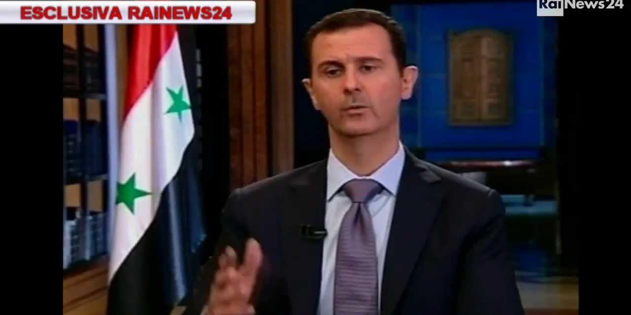 "Syria Spotlight: Assad Tells Italian TV ""We Will Hold Talks With Opposition, But Not Armed Groups"""