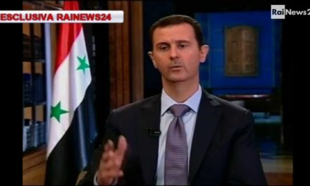 "Syria Spotlight: Assad Tells Italian TV ""We Will Hold Talks With Opposition, But Not Armed Groups"""