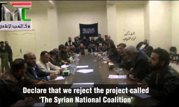 Syria Spotlight: Coalition Reacts to Insurgent Break-Away