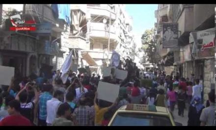 """Syria, Sept 7: """"It's Not Just With Chemicals That Assad Is Killing Our People"""""""