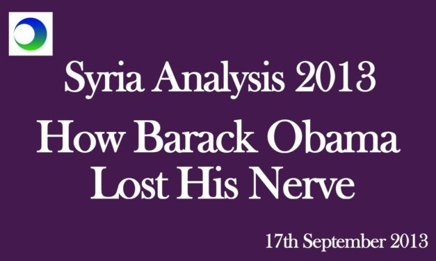 Syria Video Analysis: How President Obama Lost His Nerve