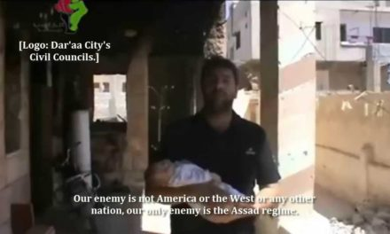 "Syria Video: ""We're With US Strikes Not Once But 1000 Times So We Can Be Rid Of Assad"""