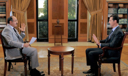 Syria Political Round-Up, Oct 22: Assad Sets Out His Victory Strategy