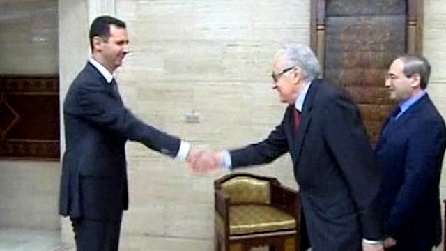 "Syria Political Round-Up, Nov 2: Assad Regime Challenges UN Envoy ""Don't Equate Us With Terrorists"""