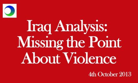 Iraq Video Analysis: Missing the Point About Violence